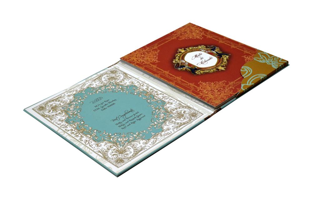 Elephant Theme Wedding Card Design PDC 204