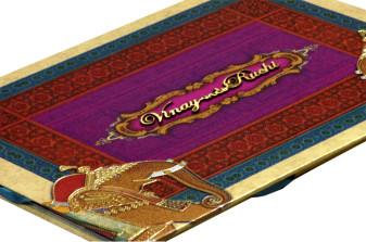 Baraat Theme Wedding Card Design PDC 226