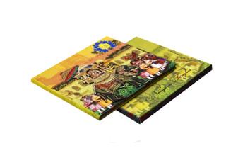 Baraat Theme Wedding Card Design PDC 228