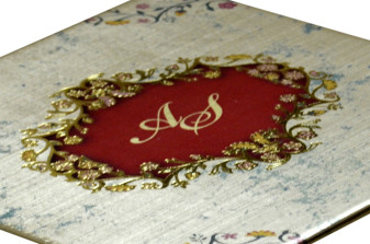 Golden Exclusive Wedding Card PDC 232