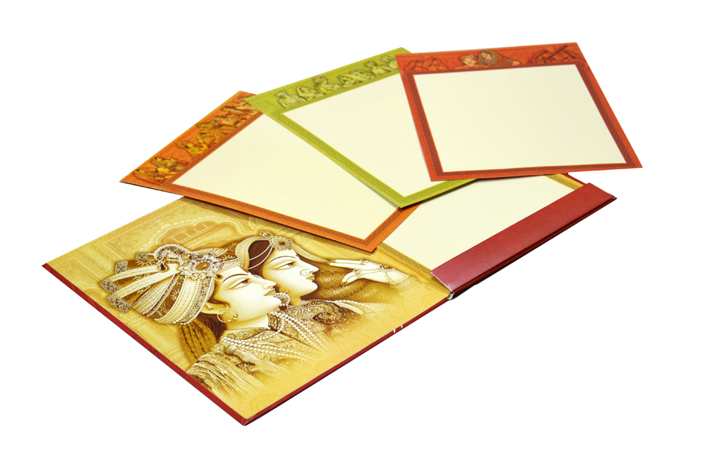Ganesh Theme Wedding Card SL 195