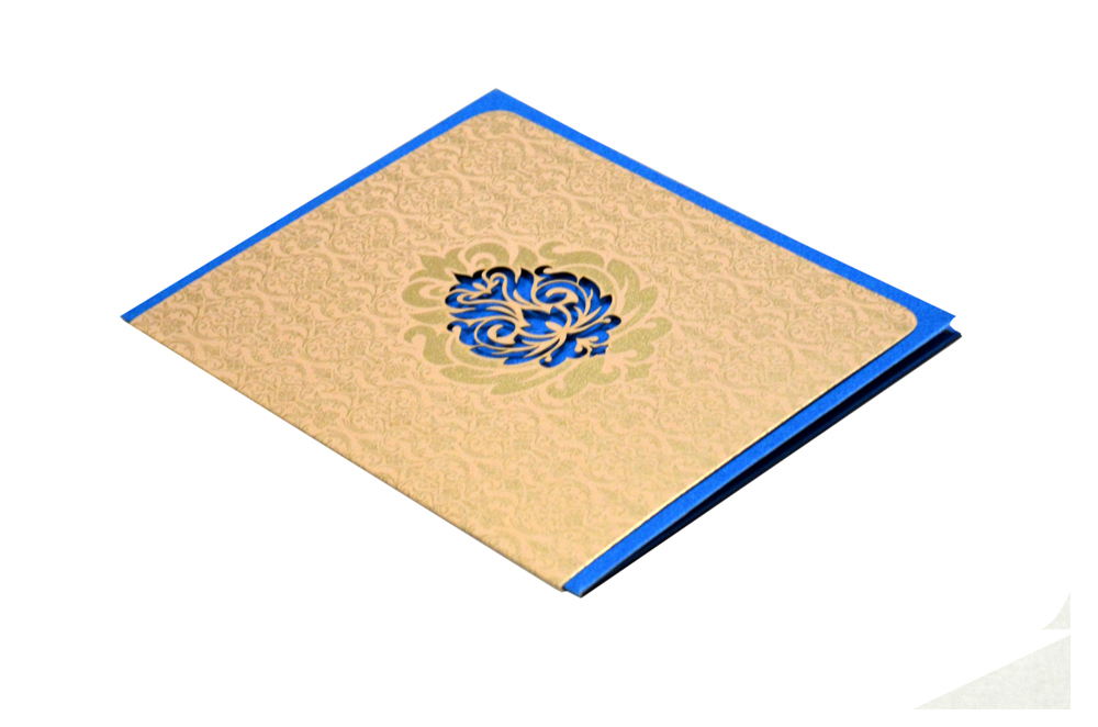 Budget Wedding Card Design GC 1007