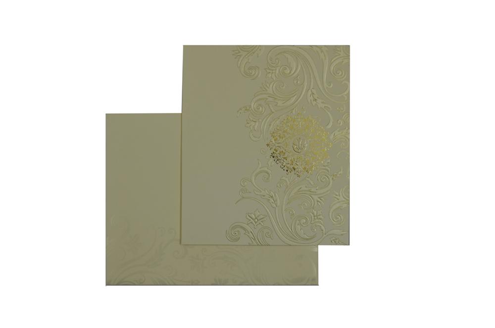 Designer Wedding Card GC 1036