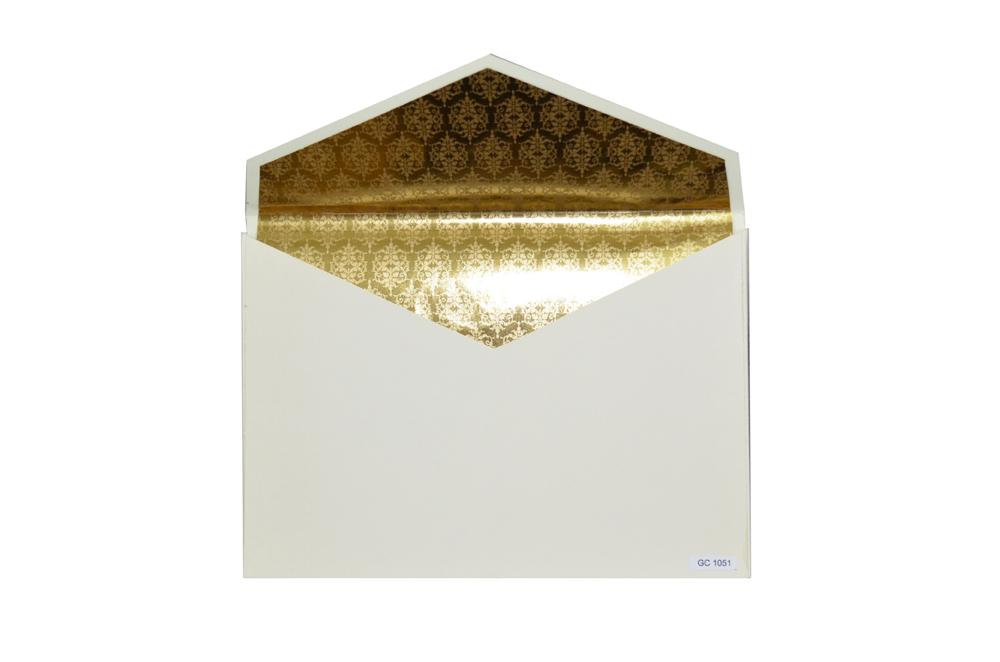 Designer Padded Wedding Card GC 1051