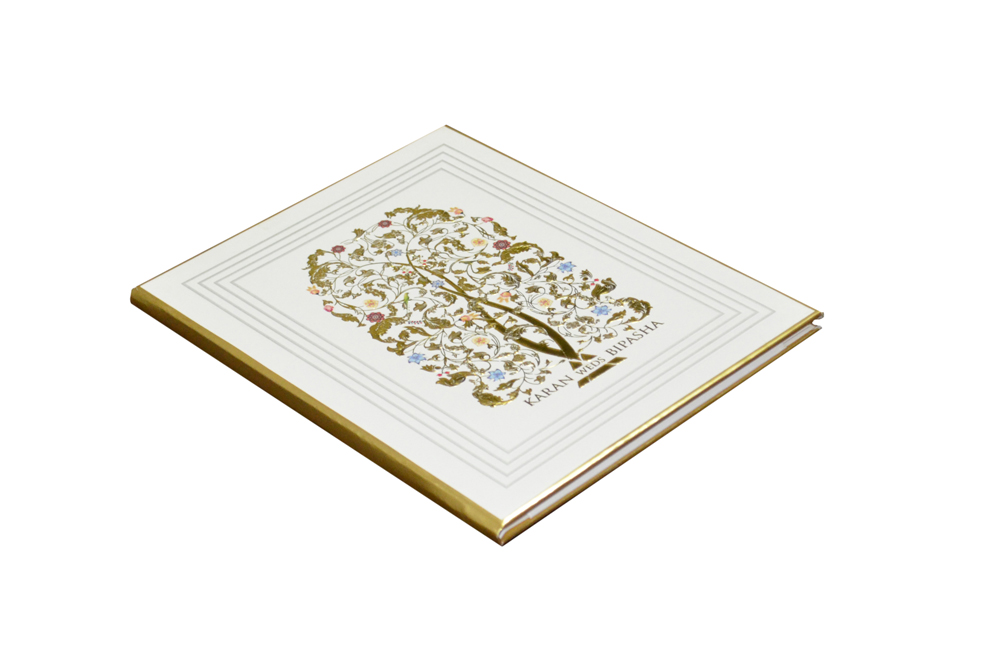 Designer Tree Theme Wedding Card GC 1063