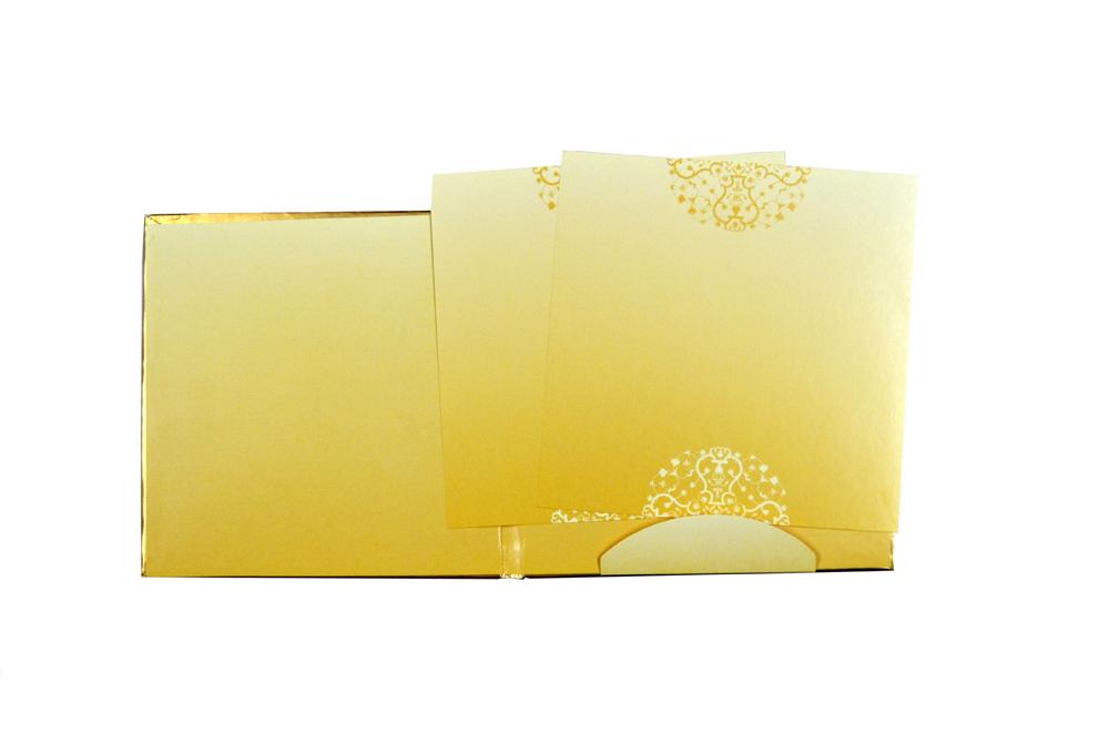 Elephant Theme Wedding Card GC 1106