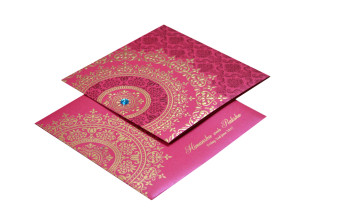 Budget Hindu Wedding Card Design GC 1204