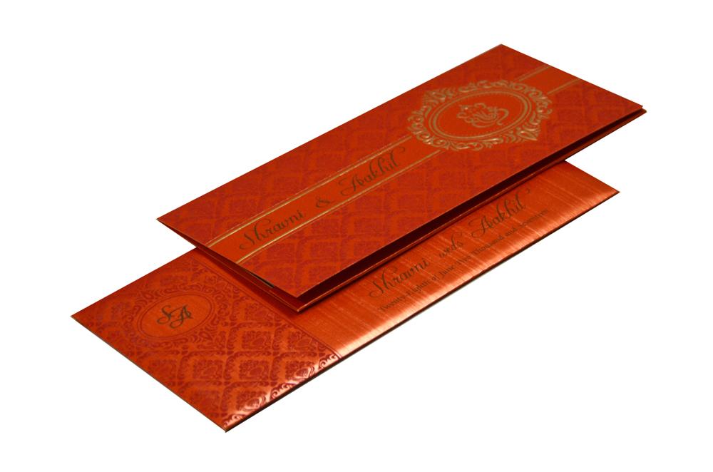 Hindu Budget Wedding Card Design GC 1207