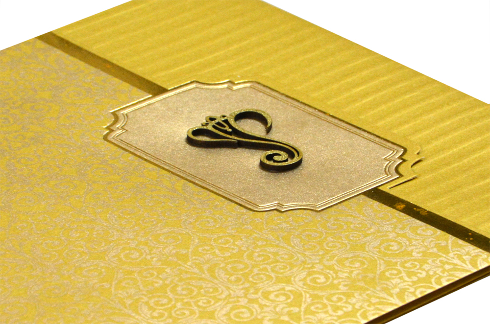 Hindu Wedding Card Design GC 1210