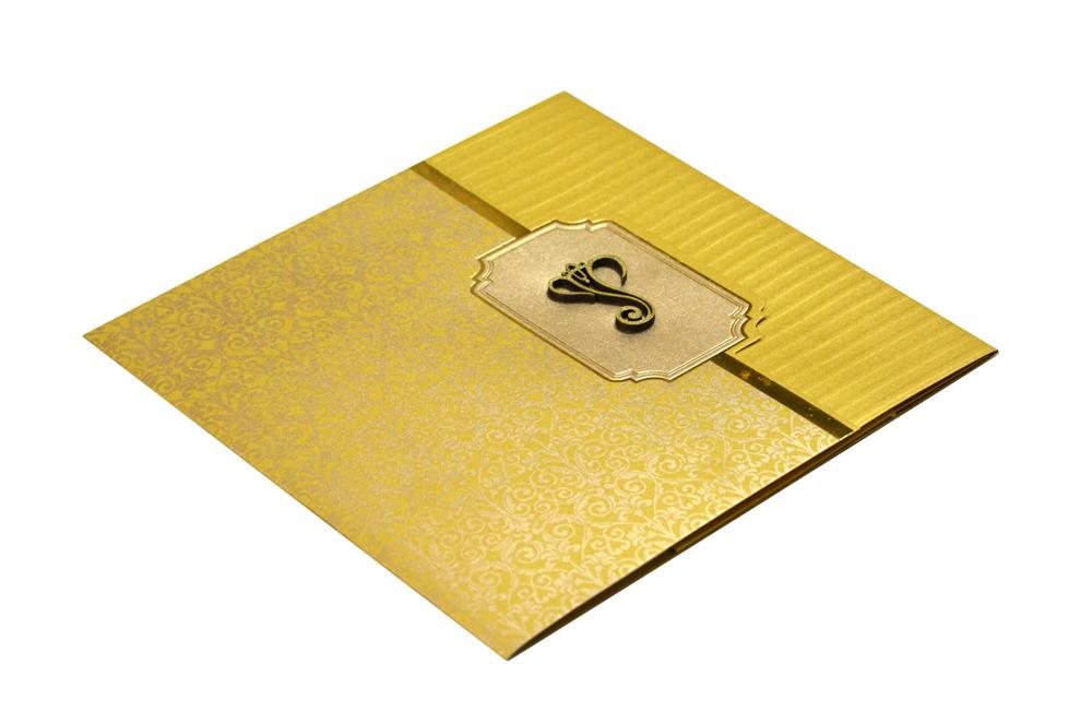 Hindu Wedding Card Design GC 1210