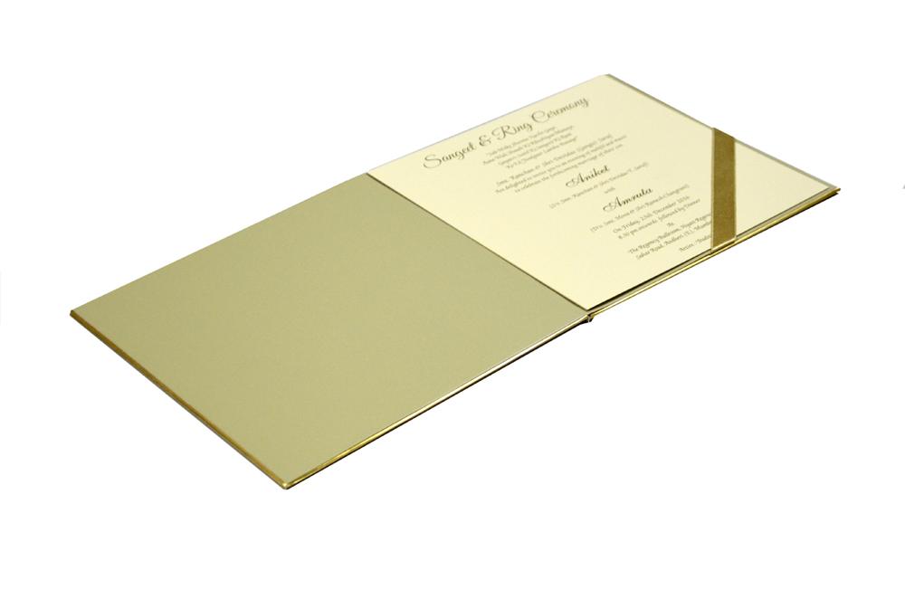 Peacock Theme Royal Wedding Card MCC 8802