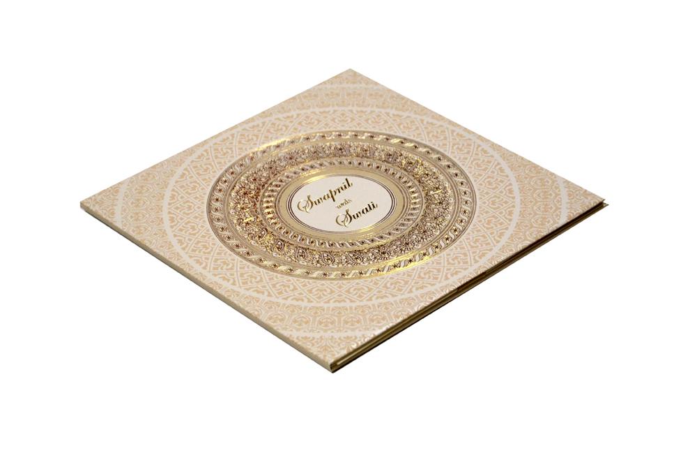 Designer Padded Wedding Card MCC 8836