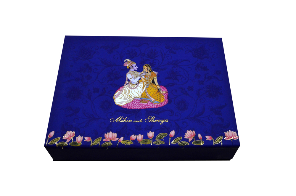 Dulha Dulhan Theme Exclusive Boxed Card MCC 8871 BOX