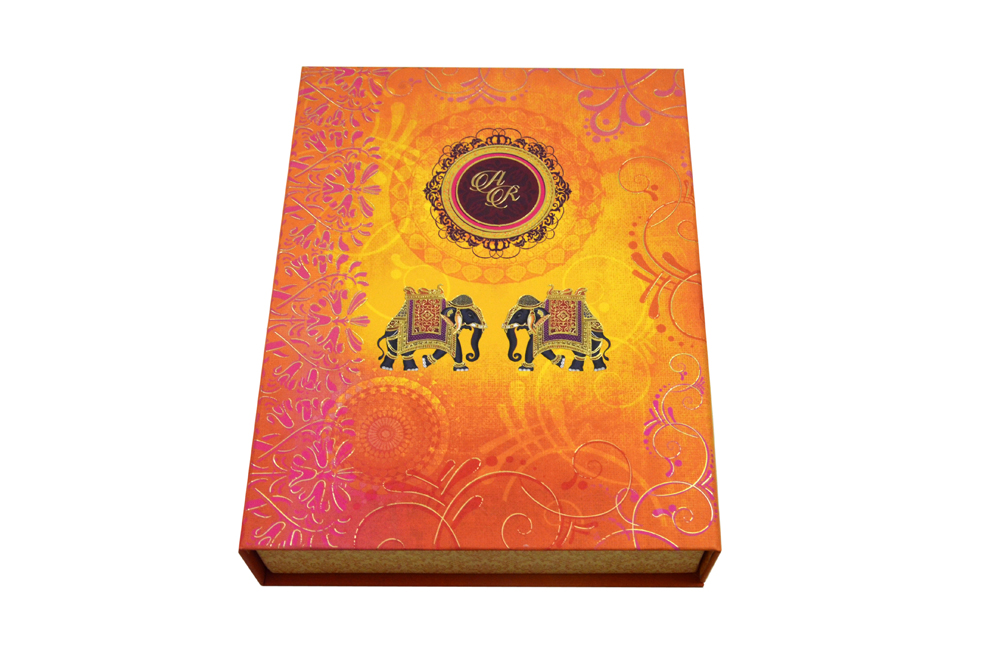 Elephant Theme Royal Boxed Card MCC 8873 BOX