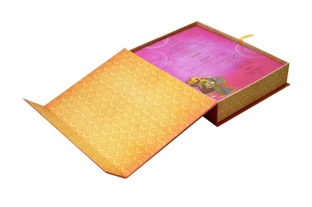 Elephant Theme Royal Boxed Card MCC 8873 BOX