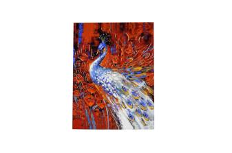 Peacock Theme Royal Boxed Card MCC 8875 BOX