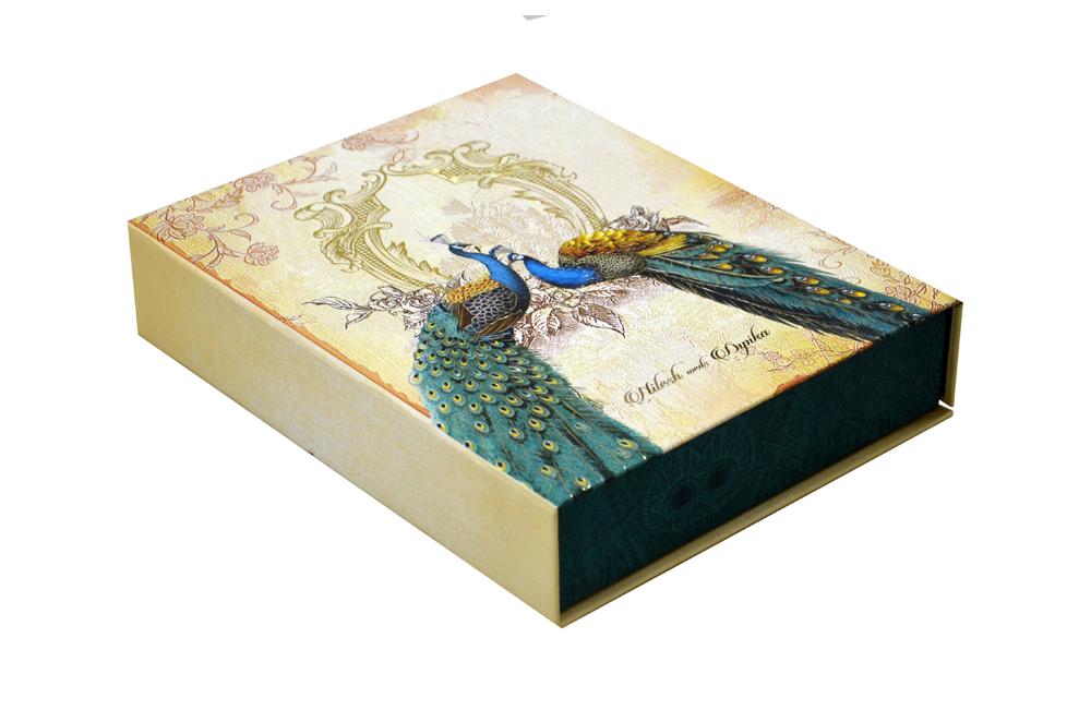 Peacock Theme Royal Boxed Card MCC 8876 BOX