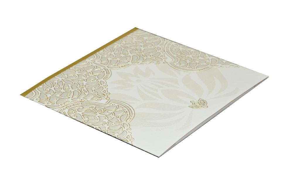 White Budget Wedding Card PN 8595