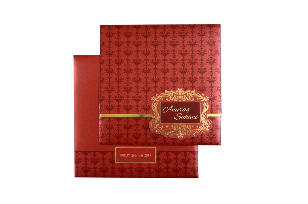 Budget Wedding Card PR 353