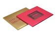 Pink Padded Wedding Card Design PR 818