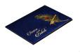 Blue Peacock Theme Wedding Card Design RB 1234 BLUE