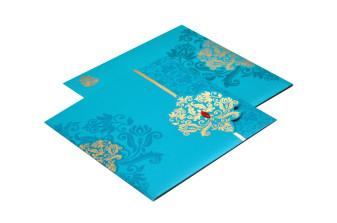 Budget Wedding Card RB 1446 FIROZI