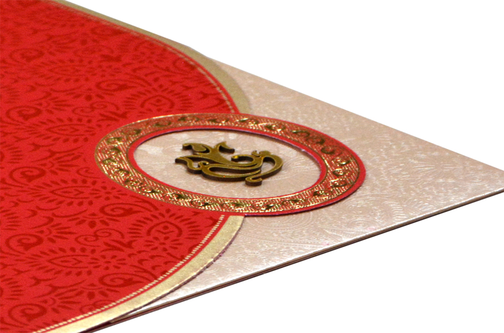 Budget Wedding Card RB 1456 RED