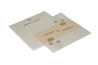 Designer Budget Wedding Card RN 2108