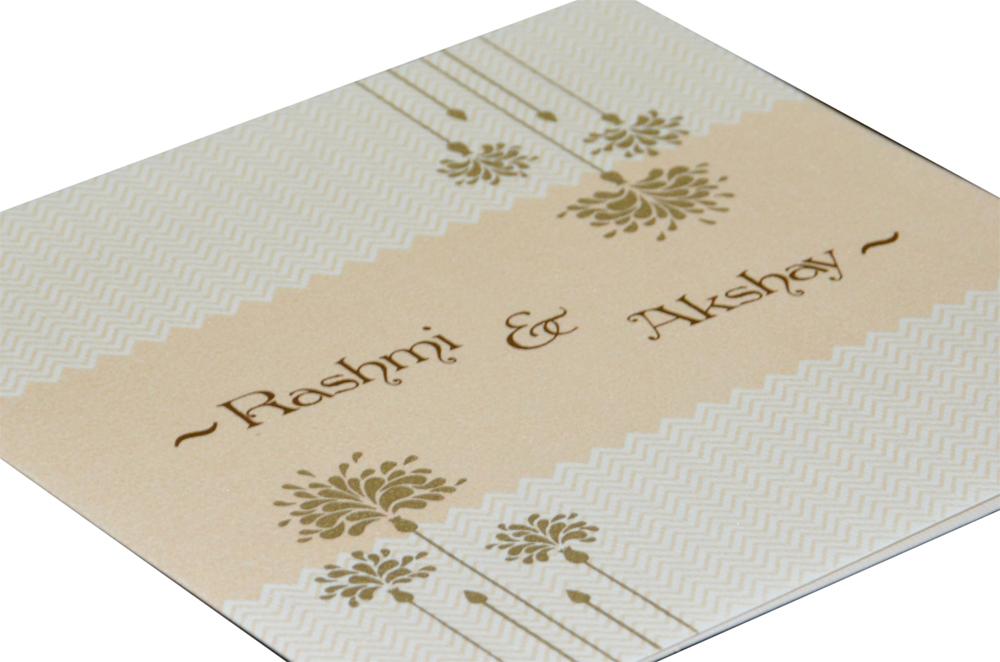 Designer Budget Wedding Card RN 2108