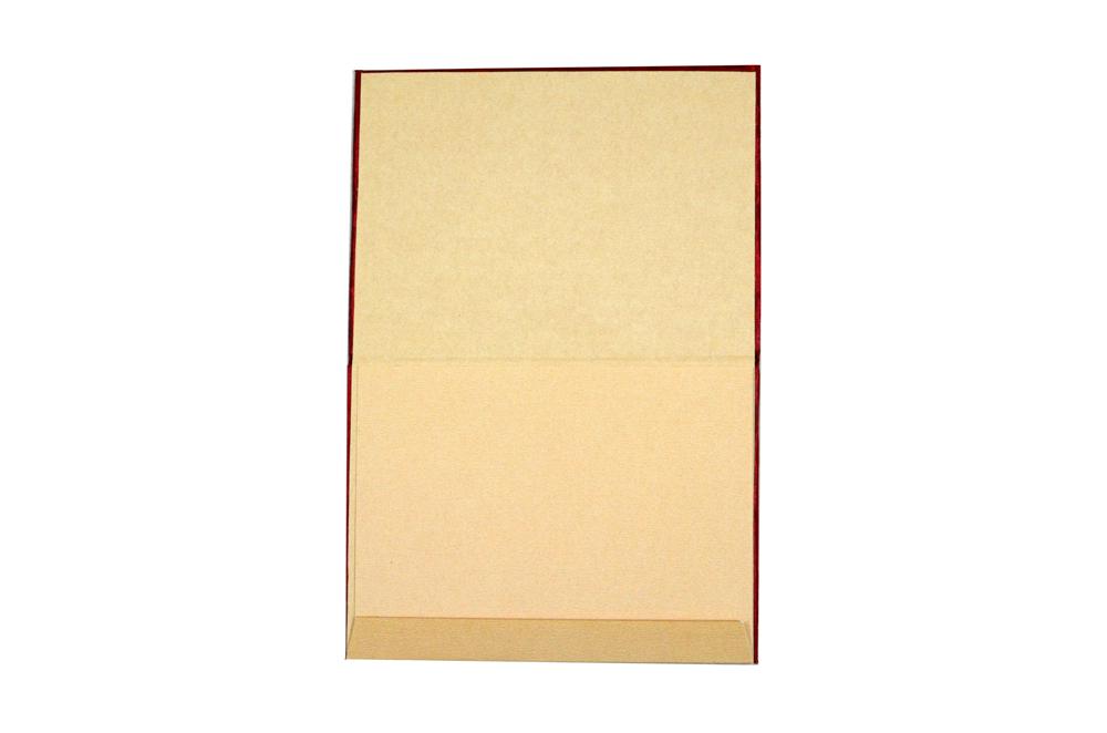 Satin Cloth Peacock Theme Wedding Card RN 2180