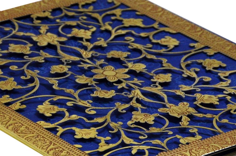 Laser Cut Wedding Card Design GC 1034