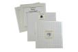 White Designer Wedding Card GC 1004