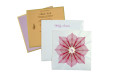 Lotus Theme Designer Wedding Card GC 1017