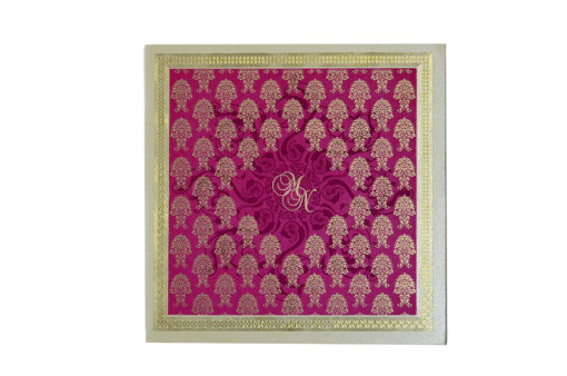 Pink Budget Wedding Card GC 1019