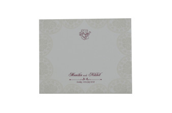 Designer Hindu Wedding Card GC 1023
