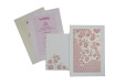 Pink Floral Wedding Card GC 1031