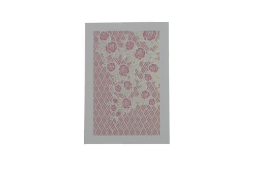 Pink Floral Wedding Card GC 1031