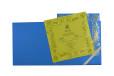 Blue Flower Cut Wedding Card Design GC 1064