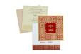 Red Designer Wedding Card GC 2001