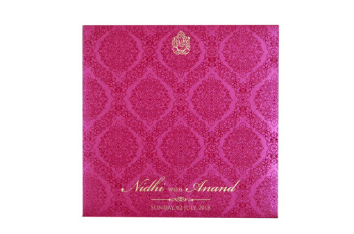 Pink Budget Wedding Card GC 2004