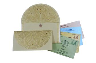 Paisley Theme Designer Wedding Card GC 2020