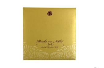 Designer Laser Cut Wedding Card Design GC 2021
