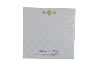 Yellow Designer Wedding Card GC 2022