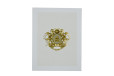 Ganesh Laser Cut Padded Wedding Card GC 2051