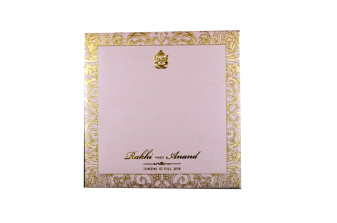 Ganesh Shlok Exclusive Hindu Wedding Card Designs GC 2053