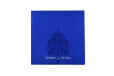 Laser Cut Lotus Theme Wedding Card LM 117 Blue