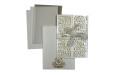 Door Style Laser Cut Wedding Card LM 138 White