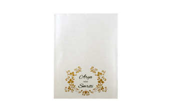 Door Style Laser Cut Wedding Card LM 140 Pink
