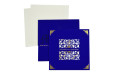 Velvet Touch Laser Cut Designer Wedding Card LM 42 Blue