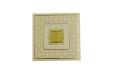 Padded Wedding Card Design LM 97 Cream